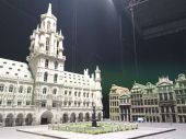 Model of Grand Place  square in Brussels